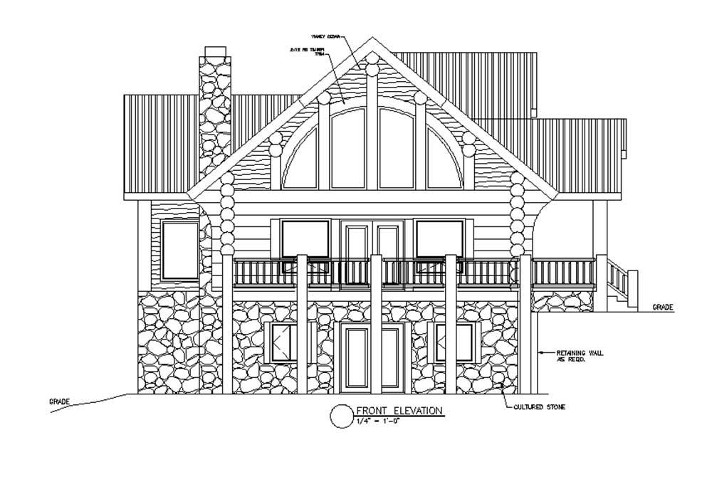 Sample Elevation Plan