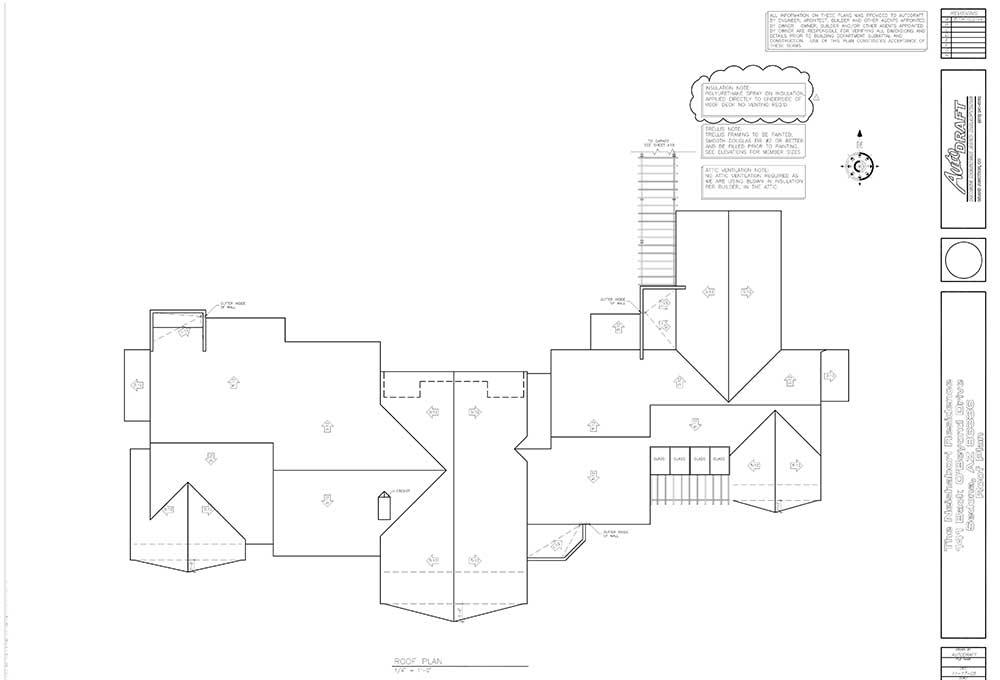 Sample Roof Plan