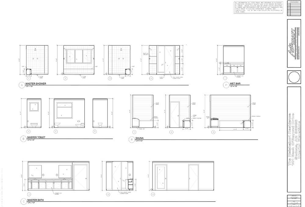Sample drafting plans