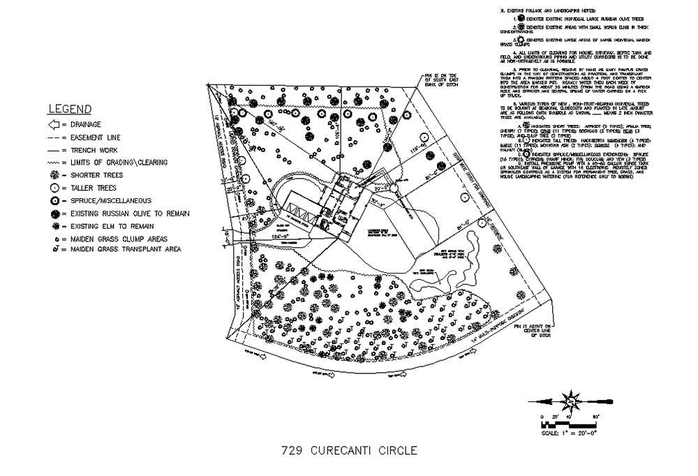 Sample Landscape Plan