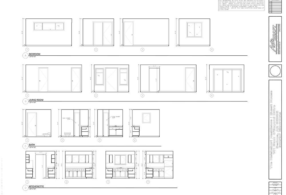 Sample Interior Elevations